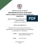 Proyecto de Tesis Implementacion de Un Sistema Integral en La Microempresa Moto Repuesto Mendoza