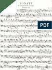 Brahms - Sonate Cello партия.Op.38