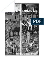 Breve manual de Filosofía 2012