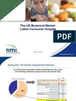 The US Botanical Market