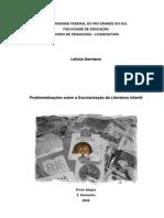 Problematizações sobre a escolarização da literatura infantil