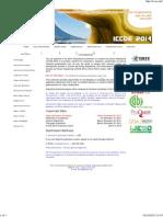 2014 International Conference on Coastal and Ocean Engineering (ICCOE 2014) Dubai 4 April 2014