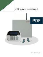 fc-7668 Alarm System User & Installer manual
