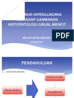 Pengaruh Hiperglikemia Terhadap Gambaran Histopatologi Ginjal Mencit