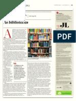 As bibliotecas - Valter Hugo Mãe