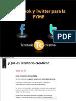 Facebook y Twitter Para La PYME