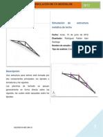 Estructura Metalica de Techo2