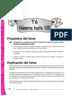 Guia Para Docentes Matematica 1 - Tema 6 - Numeros Hasta 100