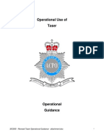 ACPO taser operational guidance