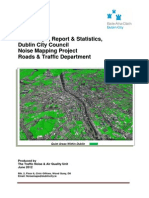 NoiseMaps Reports Statistics DUBLIN 2012final