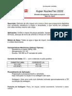 Catálogo Eletrodo Níquel e Ligas Xuper Nucleotec 2222 - Eutectic Castplin - 2010 - 2p