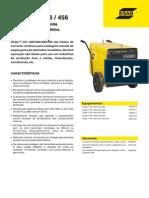 Catálogo Retificador OrigoArc256-406-426-456_pt OK ESAB - 2010 - 2p
