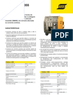Catálogo Fonte TIG ER - Heliarc-255-355 OK ESAB - 2010 - 2p