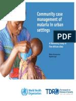 Community Mgm Malaria