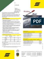 Catálogo de Marcadores Industriais ProlineHP - OK ESAB - 2010 - 1p