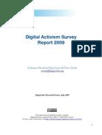 R@D 4 - Digital Activism Survey Report 2009