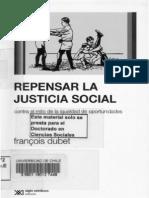 F. Dubet (2011). Repensar La Justicia Social (Libro Completo, Parte 1)