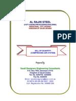 Boq-compressed Air (Rev1) (Cut & Bend Rajhi Steel)