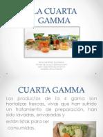 La Cuarta Gamma (Exp. Propia)