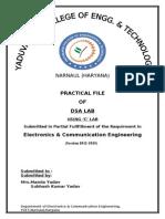Dsa Lab Practical File