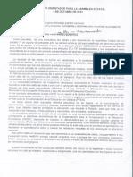 Documento Orientador para la Asamblea Estatal. 4 de octubre de 2013. Parte I.
