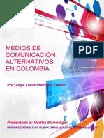 Gerencia de Mercados - Medios Alternativos de Comunicacion-Colombia