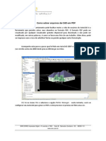 Salvando CAD Para PDF