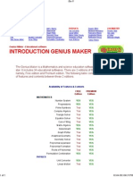 Genius Maker Software for Science Education 2
