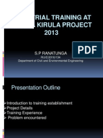 Industrial Training at Deyata Kirula 2013