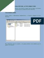 Creación unidades administrativas