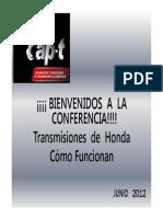 COMO   FUNCIONAN   LAS  TRANSMISIONES  HONDA [Sólo lectura]