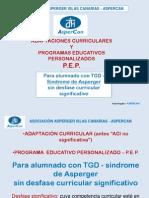 PEP y AC - S.ASPERGER-Paula-Aspercan