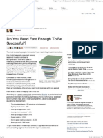 Do You Read Fast Enough to Be Successful_ - Forbes