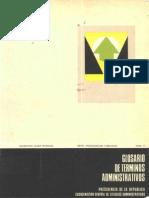 63894359 63 Glosario de Terminos Administrativos