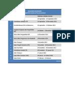 Kalender Akademik Gunadarma 2013