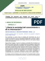CÁPSULA 1.1 SOCIEDAD DEL CONOCIMIENTO O DE LA INFORMACIÓN..