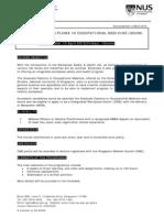 Announcement Graddip OccupationalMedicine 2012 GDOM Announcement