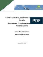 Cambio Climatico Desarrollo y Energias Renovables