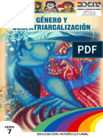 Género y despatriarcalizacion en Bolivia