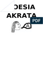 V.a. - Poesia Akrata