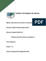 Sintesis del primer informe de gobierno.docx