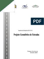 Apostila de projeto geométrico de estradas