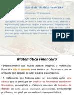 Slides Mba Matematica Financeira