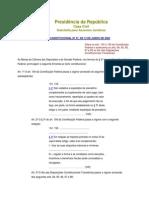 Presidência da República(TributosISSQN)EmendaConstitucional