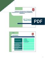 (V 0.0) NIC-1 Presentación de Estados Financieros