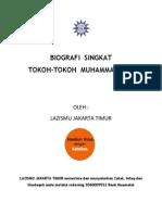 Biografi Singkat Tokoh-Tokoh Muhammadiyah