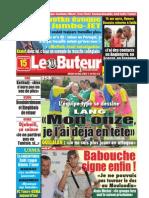 LE BUTEUR PDF du 15/07/2009