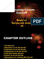 Alternating Current Circuits Based on Serway and Jewett 6ed