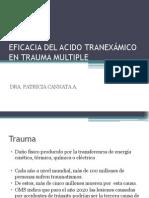 Acido Tranexamico y Trauma
