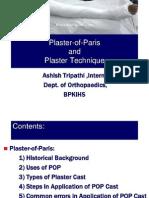 Plaster of Paris